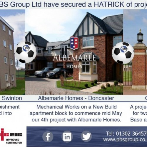 PBS Group Ltd Secure a Hatrick of Projects this Week!